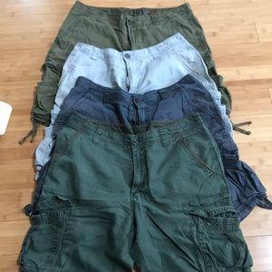 4 Old navy mens size 34 shorts